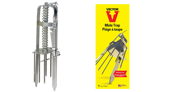 Victor Plunger Style Mole Trap: photo